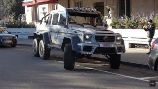 LOUD 840HP Mansory G63 AMG 6X6 in Geneva