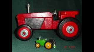 Wooden Toys - Tractors Made By Dewald Norval