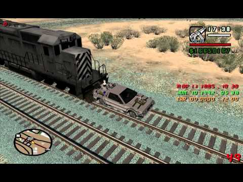 BTTF 3 RailRoad GTA Sa