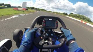 ESKC IKR Round 3 - Race 3 - Marc Connell #17