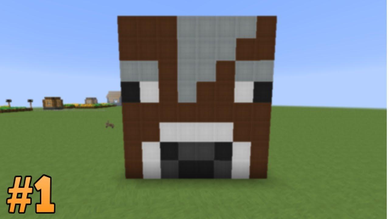 Cow Pixel Art Build