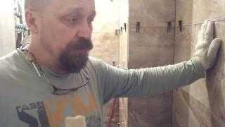 видео Бесшовная плитка - укладка и как клеить