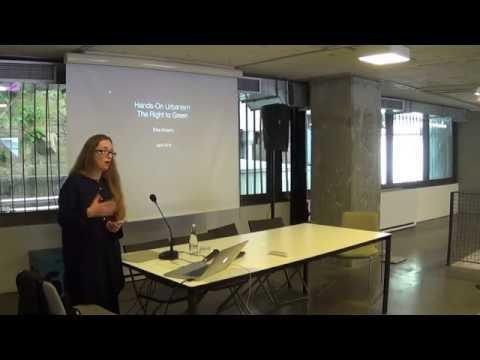 ELKE KRASNY TALKS: Hands on Urbanism