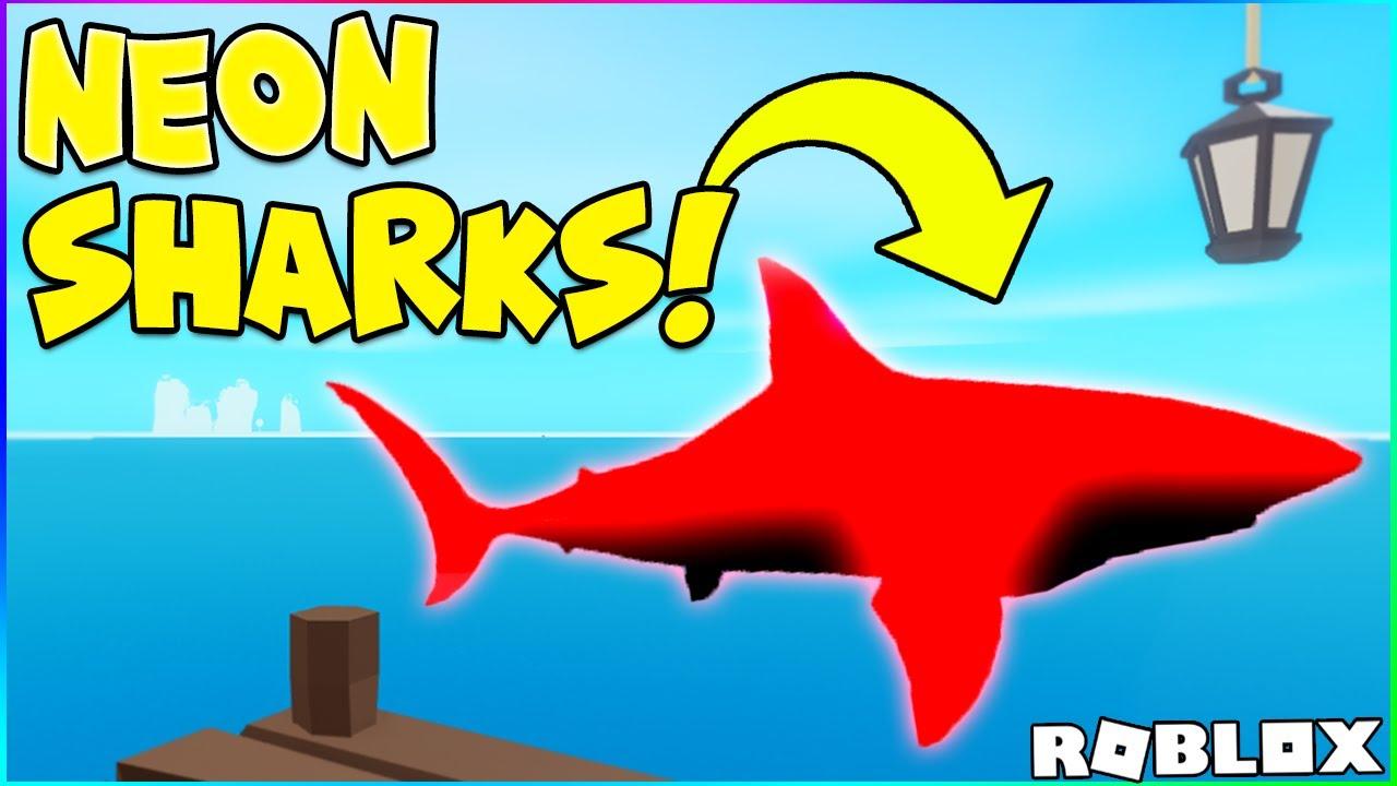 Best Method How To Get Neon Sharks In Fishing Simulator