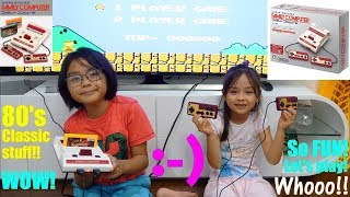 Family Toy Channel: Kids Playing Video Games. Nintendo Family Computer Classic Games. Roblox Games