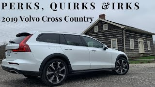 Perks, Quirks & Irks - 2019 Volvo V60 Cross Country - Suit, Tie & Hiking boots