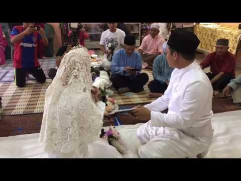 Majlis Pernikahan : Aden + Nana