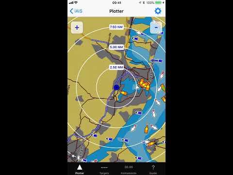 IAIS - AIS App With Navionics Charts