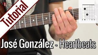 José González - Heartbeats | Gitarren Tutorial Deutsch
