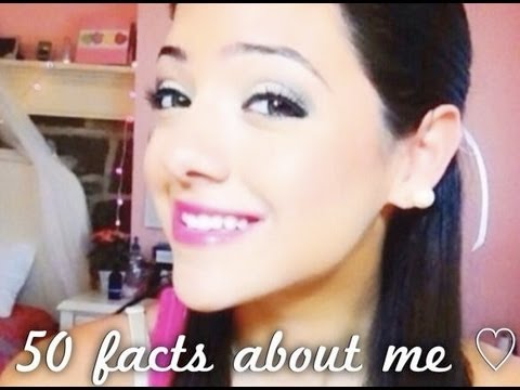 50 facts about me ♡