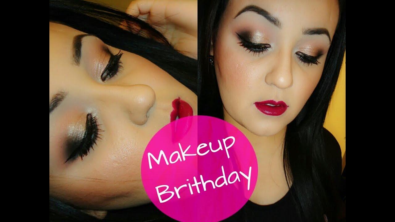 maquillaje cumpleaños