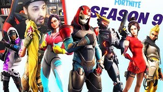 REACTION AL PASS BATTAGLIA 9 e TRAILER NEO TILTED - Fortnite ITA