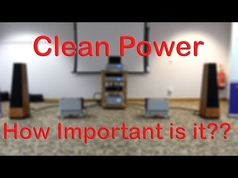 Clean Power How Important For HiFi And Home Cinema System Performance