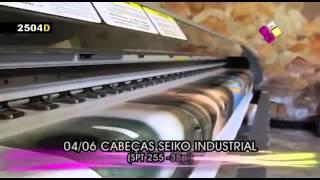 Plotter Solvente Inkjet DIGICOR Seiko SPT 255 35 pl(Работа печатающей головки Seiko SPT 255 35pl - высокое качество сольвентной печати, низкая себестоимость выпускаем..., 2015-09-03T13:04:45.000Z)