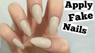 How To Apply Fake Nails (Tips to make it easy!) | Make it Fancy | Fiona Frills