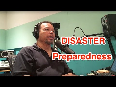 Podcast Episode 53 - Disaster Preparedness