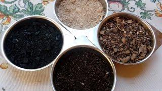 Super Adubo Feito Com Carvão e Com Mais 3 Excelentes Adubos Orgânicos