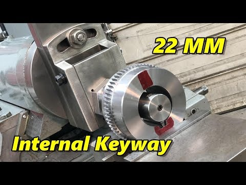 Shaping a Metric Internal Keyway