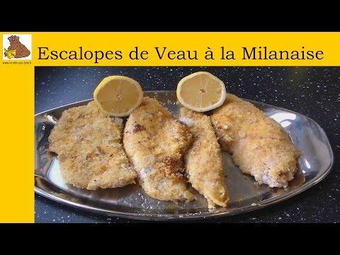 escalopes-de-veau-à-la-milanaise-(recette-facile-et-rapide)