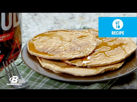 chocolate-peanut-butter-protein-pancakes-|-quick-recipes