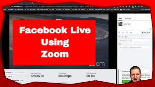 Simple tutorial about How to make zoom facebook live | How to make zoom facebook live Easy Guide