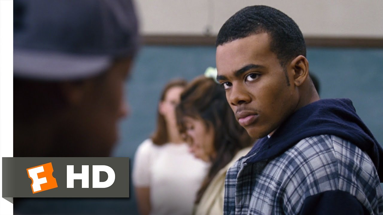 overview of the film freedom writers A spiritual moment in freedom writers in one of the most powerful scenes in the film, erin draws a line in the center of the classroom and divides the students into two groups.