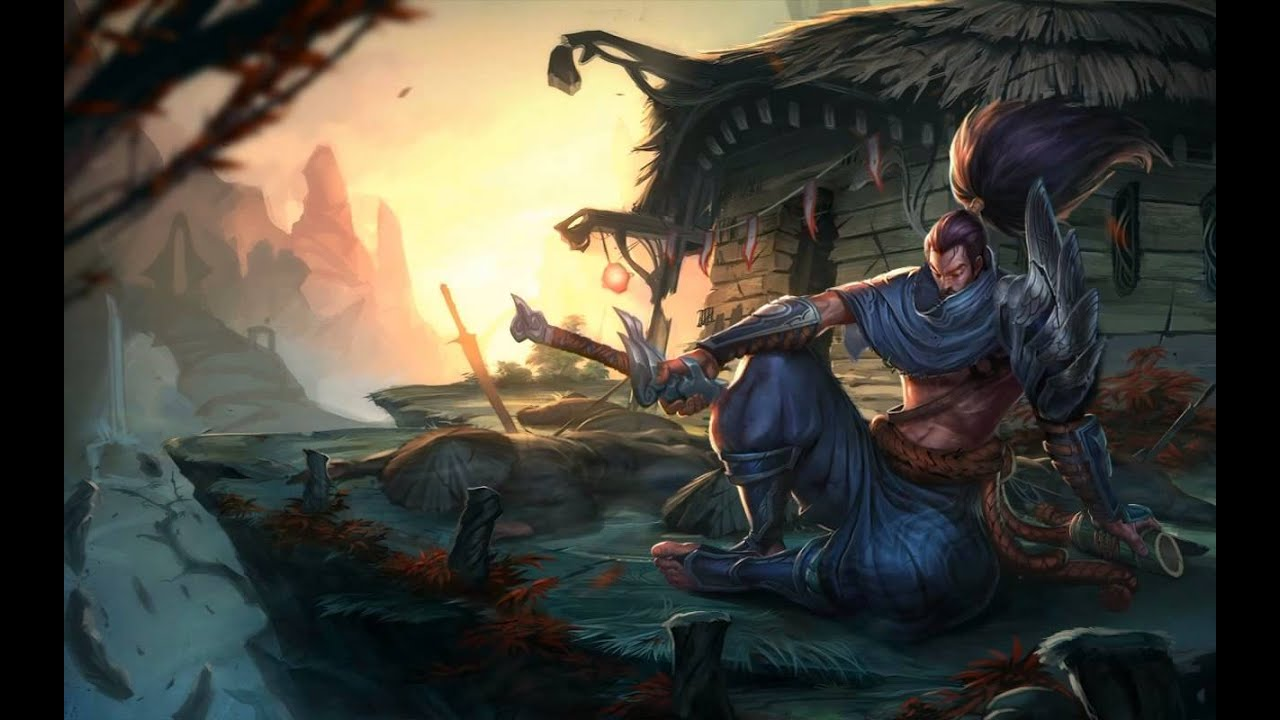 League of Legends Yasuo FULL HD Live Wallpaper YouTube