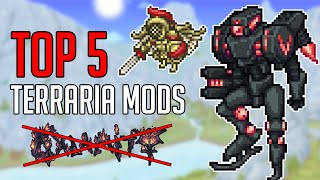 Top 5 Terraria M๐ds other than Calamity