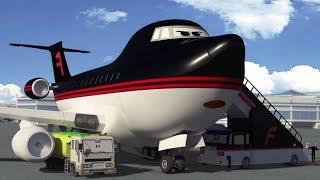 Мультфильмы - Будни аэропорта - Урок для Тайфуна (4 серия)