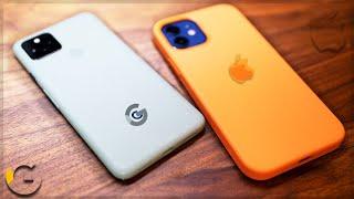 This BEAT the iPhone 12? iPhone 12 vs Pixel 5 [Full Comparison]