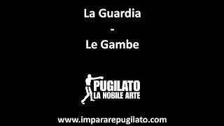 La Guardia del Pugilato - Le Gambe - www.impararepugilato.com - Simone Bianchi