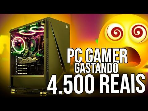 PC Gamer IDEAL Roda De TUDO Por 4.500 Reais   Gravar E Fazer Live