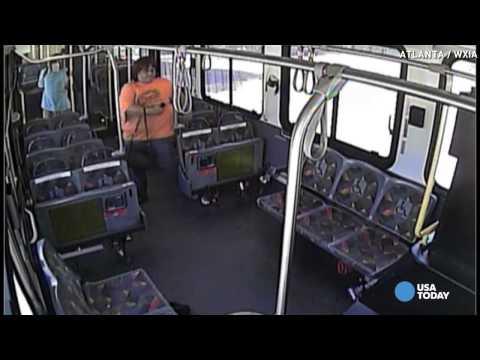 Video shows moment train crashes into MARTA