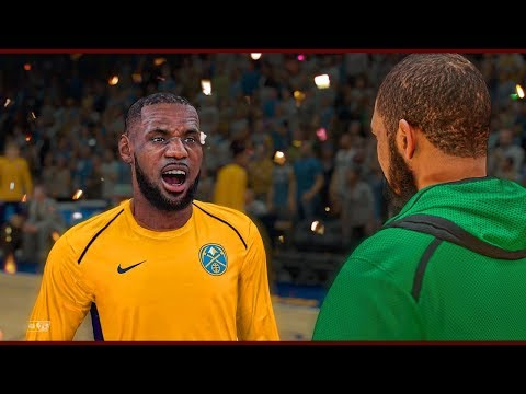 Lebron James Challenge   Revenge on Kyrie Irving by Destroying his Ankles   NBA 2k18 MyCareer #41