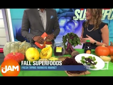 Healthy Superfoods to Eat This Fall