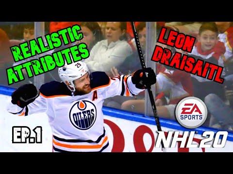 Realistic Attributes for Leon Draisaitl