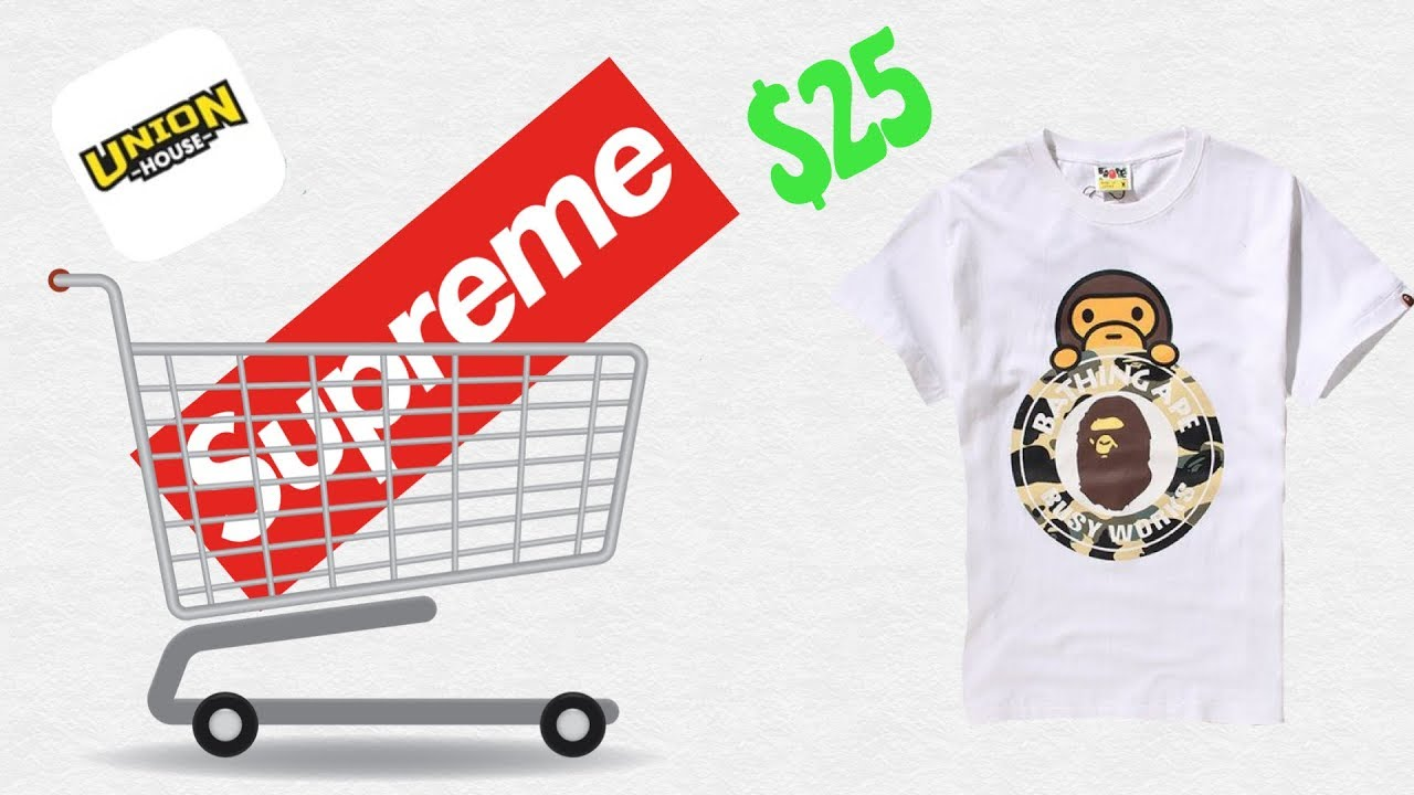 Where To Get Cheap Replica Supreme Bape Items Best App Youtube