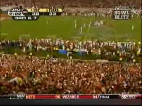 2005 BCS National Championship #1 USC vs #2 Texas in The Rose Bowl