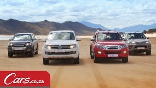 Drag Race: New Hilux vs Ranger vs Amarok vs Isuzu KB