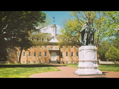 Serene Campus Scene: Wren Building with LoFi