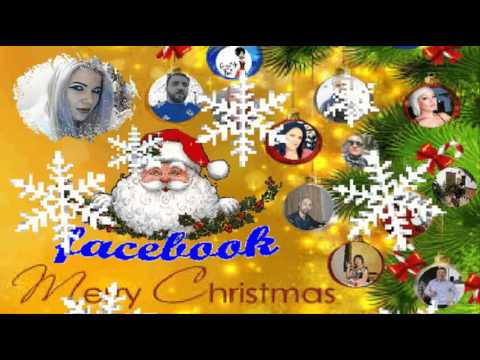 Merry Christmas facebook friends - YouTube