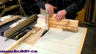 Cutting A Wide Box Joint