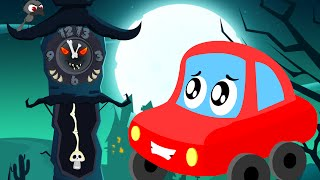 little red car | the clock has struck thirteen | Halloween songs for children