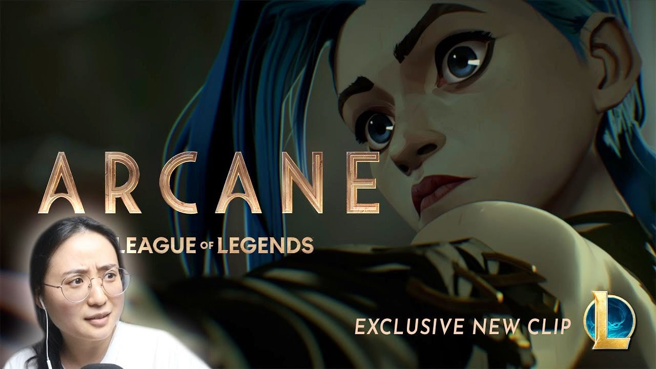 """Download REACT to NEW SEGMENT from """"Arcane: Animated Series 