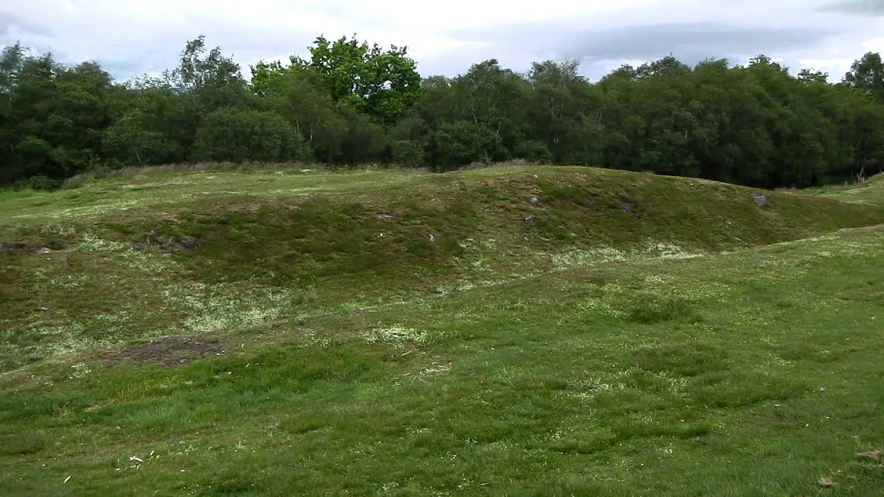 Rough Castle Antonine Wall Scotland Youtube