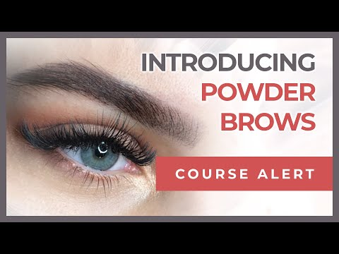 Introducing Powder Brows | Beauty Angels Academy USA