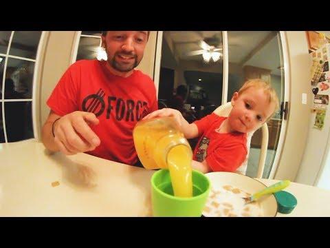 Toddler Breakfast CHALLENGE!