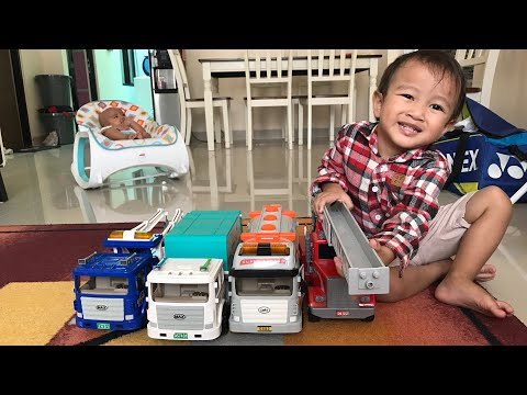 Kenzo Main Mobil Truck | Mainan Anak Zaman Now | Bermain Sambil Belajar
