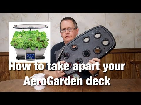 How to take apart your AeroGarden deck and why it's important to check