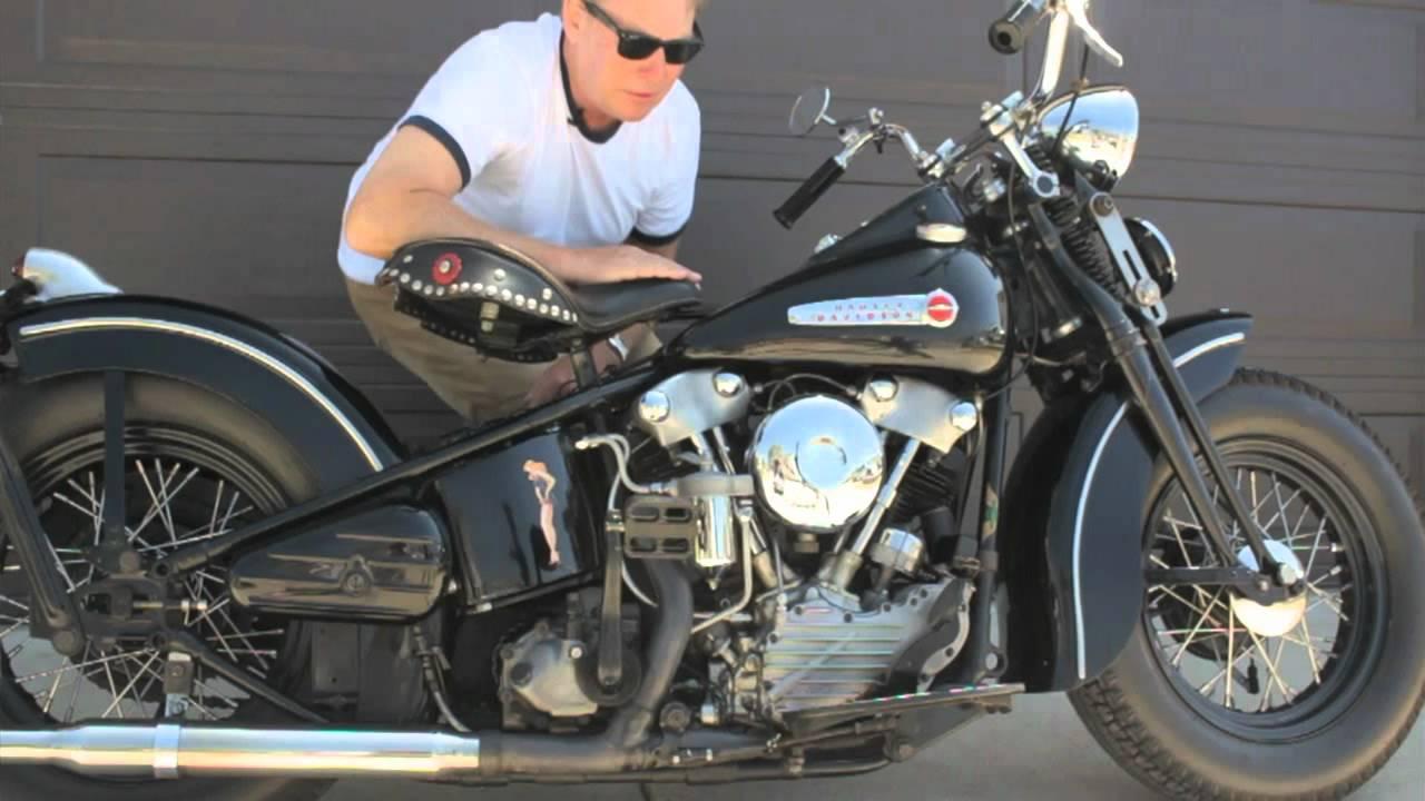 1947 Harley-davidson Fl Knucklehead Bobber